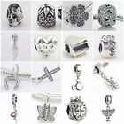 Authentic Solid 925 Sterling Silver Charms U fit European Bead Charm Bracelets