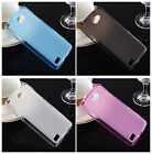 Soft Pudding TPU Gel Silicone Protector Cover cellphone Case skin For LG
