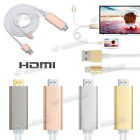 Kyпить Lightning Hdmi HDTV Digital AV Adapter Kabel 2m f. iPhone 6s 6Plus 6 5 Se 4Farbe на еВаy.соm