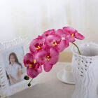 Hot Sale Butterfly Orchid Silk Flower Bouquet Phalaenopsis Wedding Home Decor