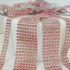CORAL Diamante Bling Sparkling Effect Wedding silver Cake Craft Ribbon mesh