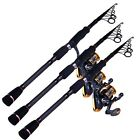 Unique Superhard Carbon Fiber Telescopic Fishing Rods Super Light Fishing Poles
