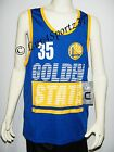 NWT Golden State WARRIORS Blue KEVIN DURANT Jersey #35 YOUTH S M or L