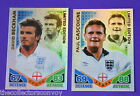 Topps Match Attax ENGLAND World Cup 2010 TCG Limited Edition Cards