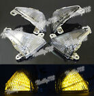 Led Front Turn Signal Blinker Light For KAWASAKI ZX-14R ZZR1400 Concours GTR1400