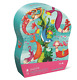 NEW CROCODILE CREEK MERMAID JR. KIDS PUZZLE GAME ACTIVITY LEARNING FUN TOYS 72pc