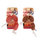 AFP Design-New Soft Plush Squeaker BBQ Fun Scrumptious Sausages Dog Puppy Toys