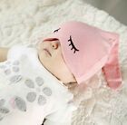 New Toddlers Baby Infant Eye Hat Girl Boy Beanies Headwear Sleep Cap Cotton Hats