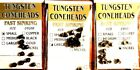 Wapsi Tungsten Coneheads Choice of Color $ Size ( 1 Pack) 10 Coneheads/  Pack