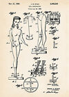 Barbie Doll Construction Patent Drawings Art Prints Gift Mattel Ryan Frame Ready