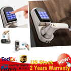 Smart Keyless Touch Password Entry Home Security Electronic Door Lock L/R Handle