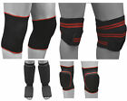 MMA Knee Wrap & knee Pad Gym Training Bodybuilding Heavy Lifting Leg Support Cap