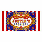 Carnival Birthday Banner Personalized Party Backdrop