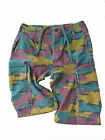 Girls Size Belgian Army Issue Cargo Combat Shorts XS to XXL