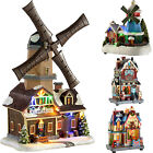 Pre-Lit LED Christmas Toy Shop Scene Musical Christmas Decoration Multi-Colour