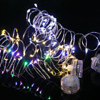 20 30 50 LED MICRO COPPER WIRE STRING FAIRY BATTERY PARTY XMAS WEDDING LIGHT