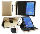 Folio Leather Case Stand Universal Wallet Cover fits 9