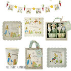 Peter Rabbit Party Tableware, Baby Shower, Christening,Plates, Cups, Napkins