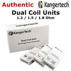 AUTHENTIC Kanger Dual Coils 1.2 / 1.5 / 1.8 ohm Wholesale 5/10/20 pack
