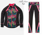 NWT Justice 12 Printed Mock Neck DANCE Jacket & Leggings Outfit