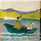 Sam Toft A Day out with Little Betty Canvas Print 40x40cm