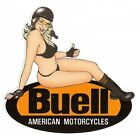 Sticker BUELL A.M right Pin up droite°
