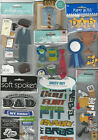 U CHOOSE Assorted Jolee's Recollections Soft Spoken etc DAD 3D Stickers father
