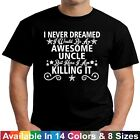 Awesome UNCLE Killing It Funny Fathers Day Birthday Christmas Gift Tee T Shirt