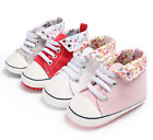 Baby Boy Girl Crib Shoes Toddler PreWalker Trainers Sneakers Newborn to 18 Month