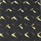 Black Embroidery Timming Gold Red Feather Dress Trim Wide Fabric Sew Craft 1.5m