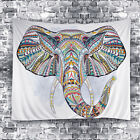 Indian Elephant Tapestry Hippie Wall Hanging  Bedspread Dorm Decor