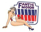 FANTIC MOTOR right Pin Up droite Sticker°