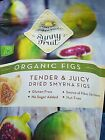 Sunny Fruit Organic Figs 1kg (35.27 oz) Big Value Pack