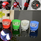 LED SILICONE BIKE BICYCLE CYCLE FRONT REAR OPTION BACKPACK CAMPING SAFETY LIGHT*