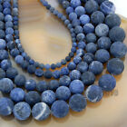 Wholesale Natural Matte Gemstone Round Spacer Loose Beads 4mm 6mm 8mm 10mm 12mm фото