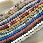 Crafts - Wholesale Natural Matte Gemstone Round Spacer Loose Beads 4mm 6mm 8mm 10mm 12mm