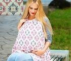 Portable Baby Breastfeeding Nursing Cover Breathable Cotton For New Mother