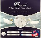 85% Duck Down & 15% Duck Feather Quilt winter Weight pure cotton cover