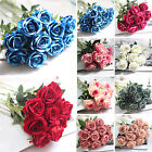 COOL New Artificial Silk Fake Rose Flowers Wedding Party Home Bouquet Decoration
