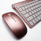 Ultra-thin Mini Metal-cover Keyboard Suit Wireless Keyboard and Mouse Combo Kit