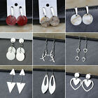 Women's Stainless Steel Shell Fashion Elegant Ear Hook Drop/Dangle Stud Earrings