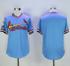 St Louis Cardinals Cooperstown Blank Baseball Jersey Men Throwback STITCHED