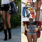 Us Stock Fishnet Pantyhose With Back Seam New Adult Women Stockings Plus Size