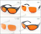 200nm - 532nm OD 6+ Blue Green Laser Protective Goggles Safety Glasses T=50%