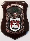 Bonner to Brabazon Family Handpainted Coat of Arms Crest PLAQUE Shield