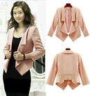 Hot New Women's Blazer Top Casual Candy Colors Suit Jacket Outerwear jackets