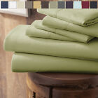Home Collection Ultra Soft 4 Piece Bed Sheet Set -FREE BONUS PILLOWCASES! image