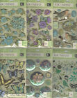 U CHOOSE Assorted K&Company Susan Winget BOTANICAL 3D Stickers butterflies