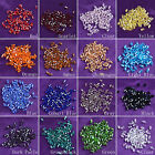 LONGWIN 500pcs Lot Bicone Loose Crystal Beads Jewelry Making Supplies Findings
