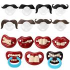 Внешний вид - Orthodontic Baby Newborn Infant Funny Mustache Pacifier Binky Pacifiers Dummy